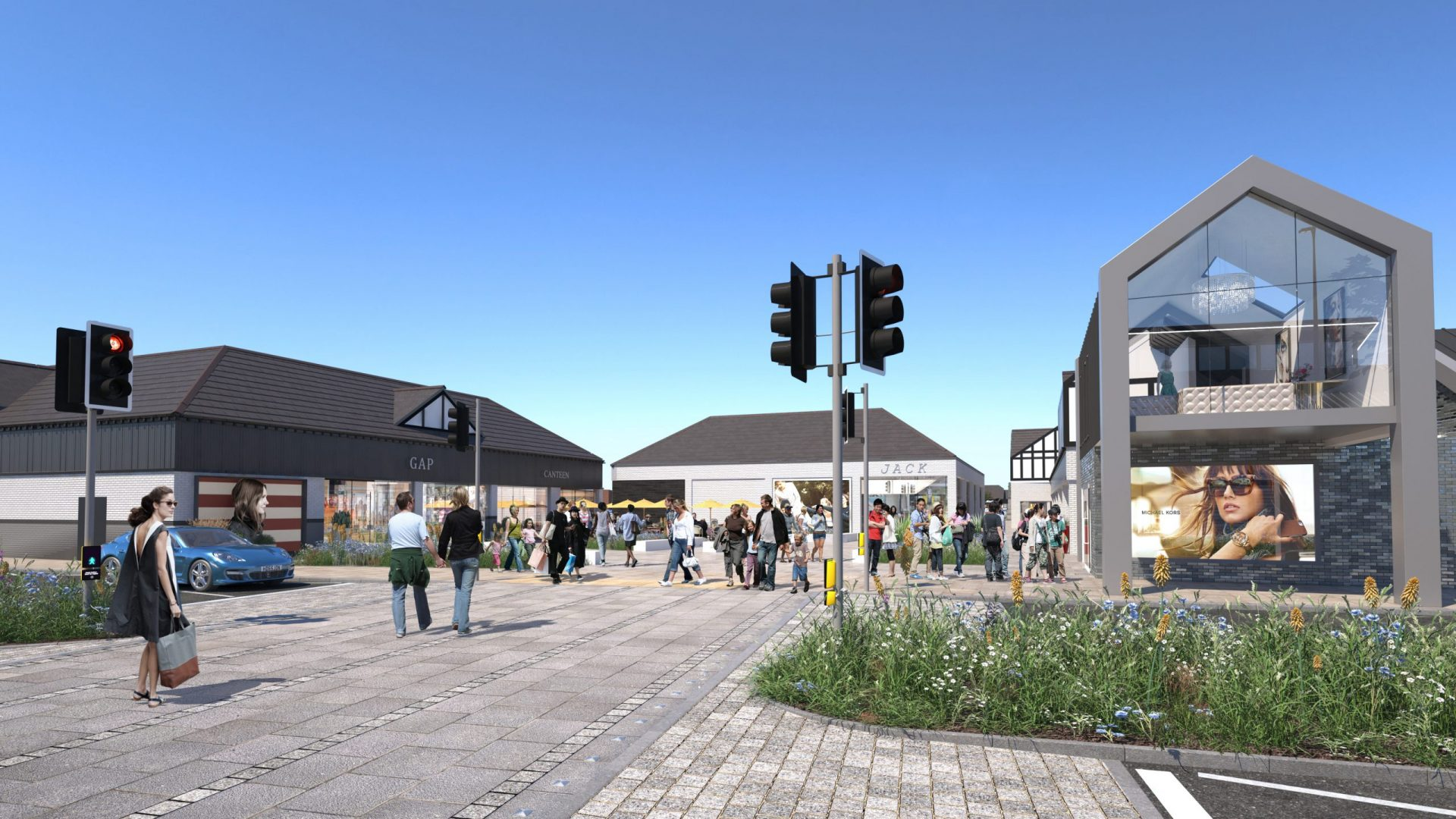 Cheshire Oaks Extension Project CGI 1