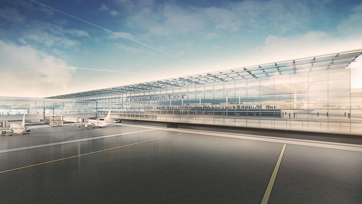 Manchester Airport Project CGI 1