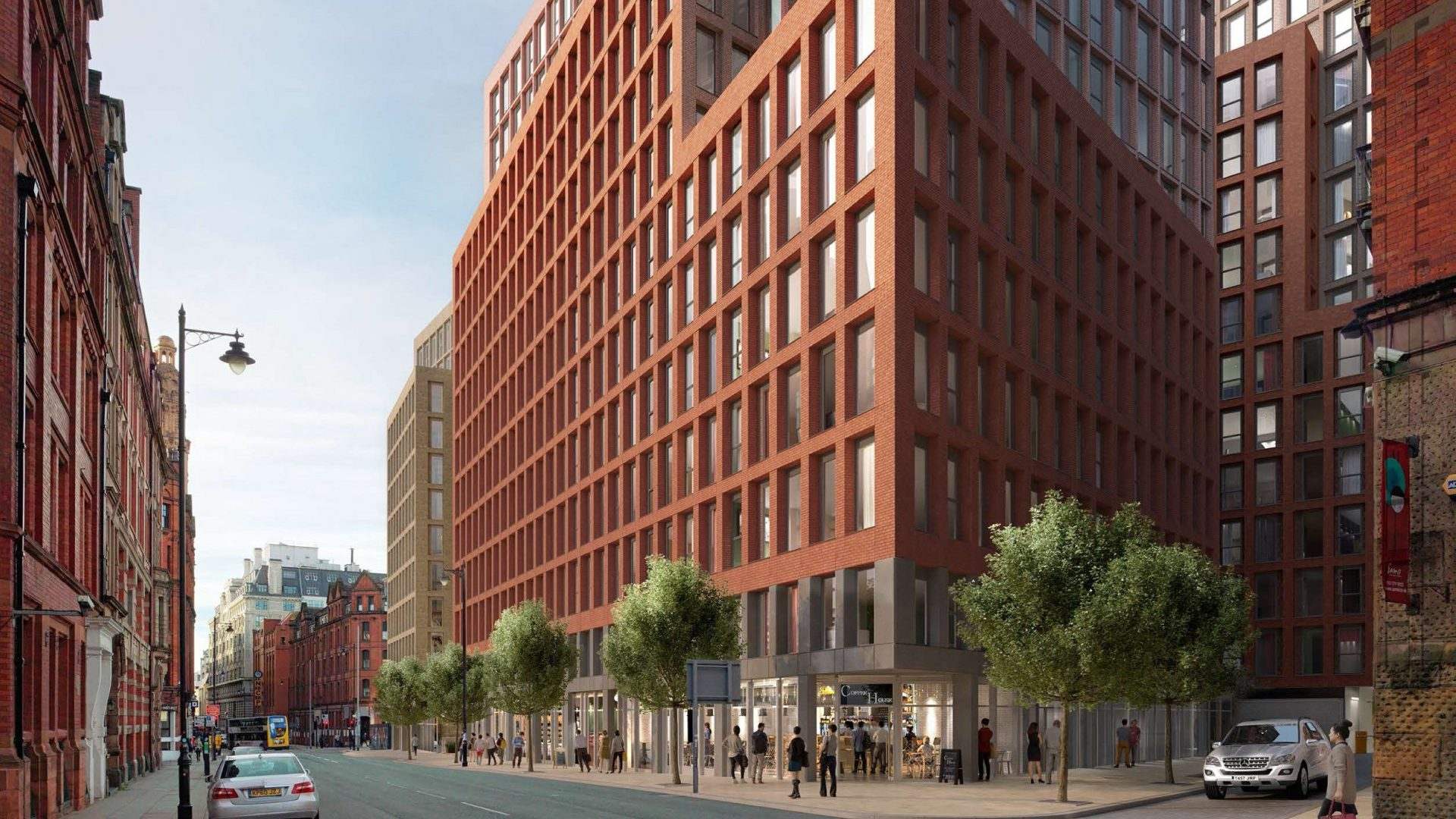 Manchester New Square Project CGI 2