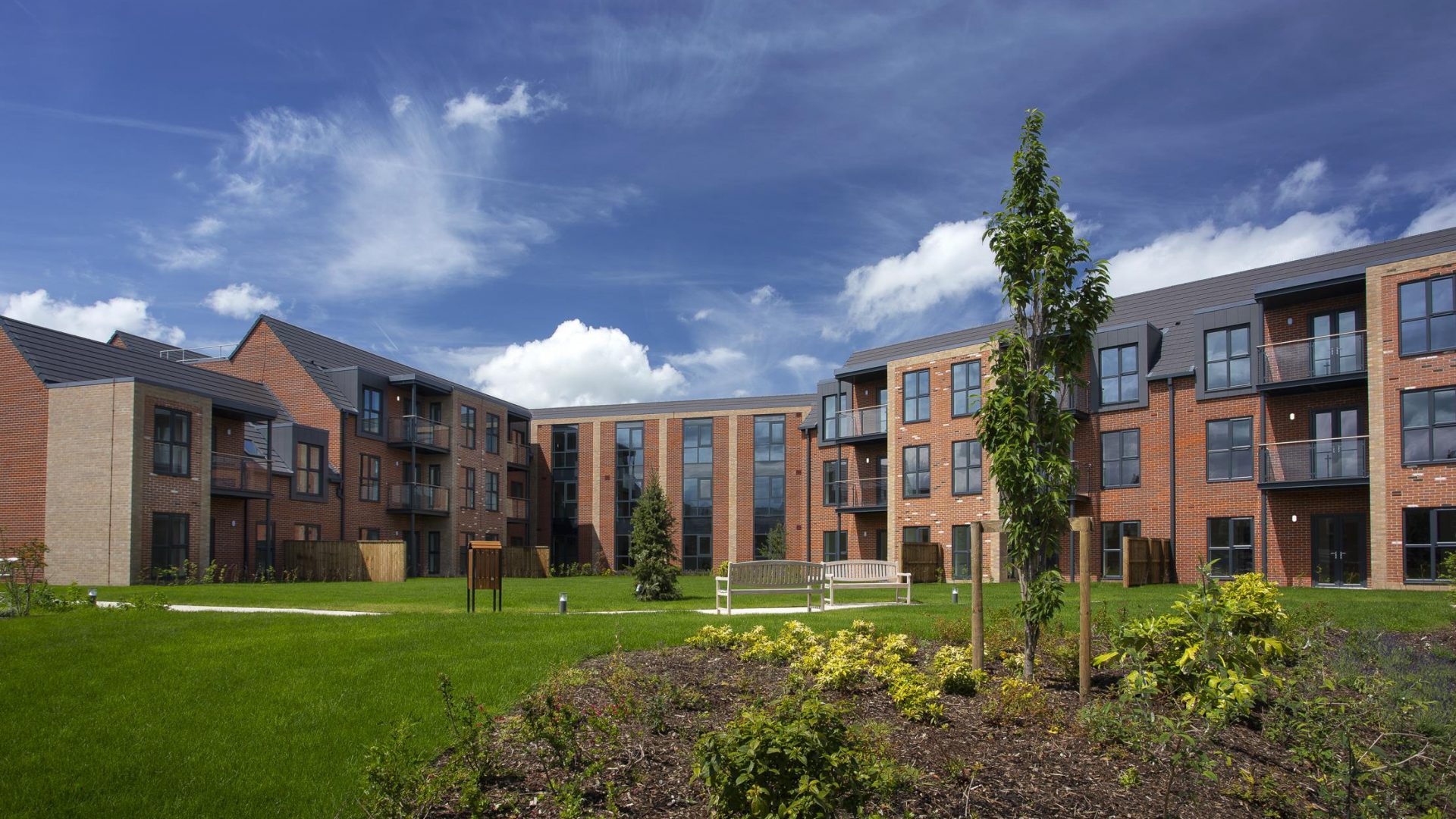 Extra Care Chorley Project CGI 1