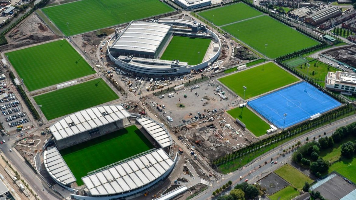 Manchester City Training Academy Project CGI 1